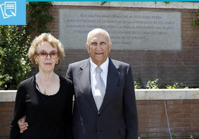 Agradecimiento a familia Fernández Mac Auliffe