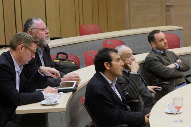 Poder intercambiar ideas y conocer sobre lo que se desarrolla en materia de investigación en las comunicaciones en Chile, fue uno de los aspectos más valorados de la jornada por sus asistentes.