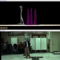 Académicos analizan los movimientos de un paciente con trastornos neurológicos