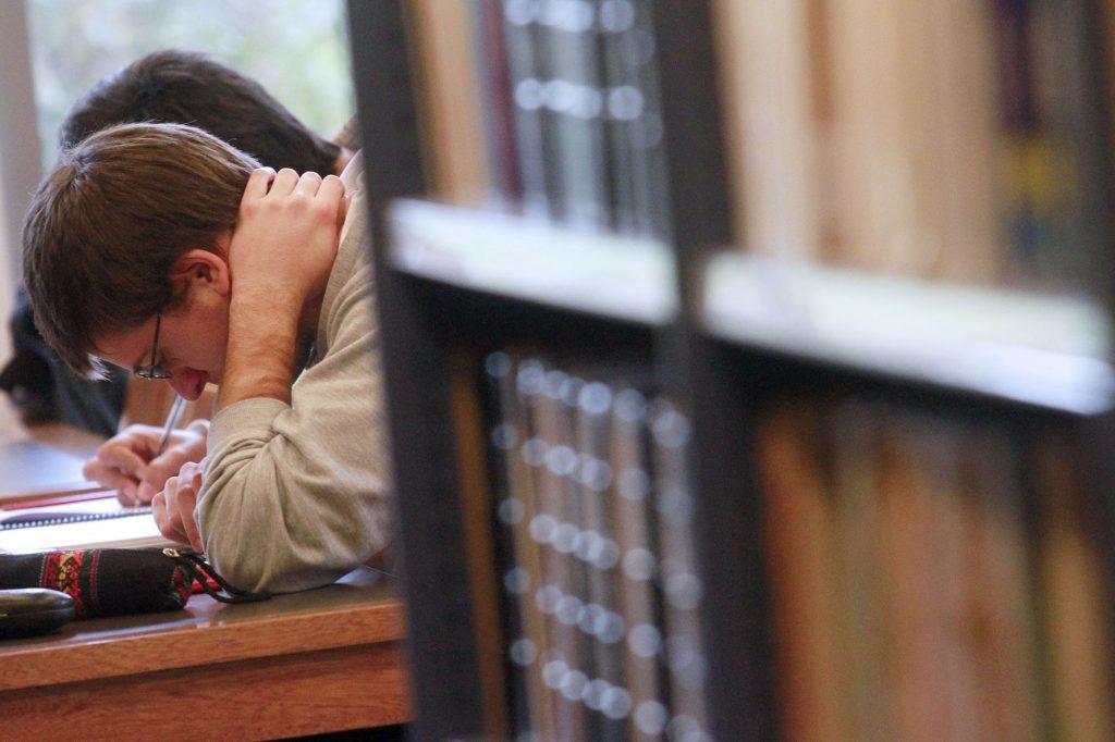 Libros y alumnos