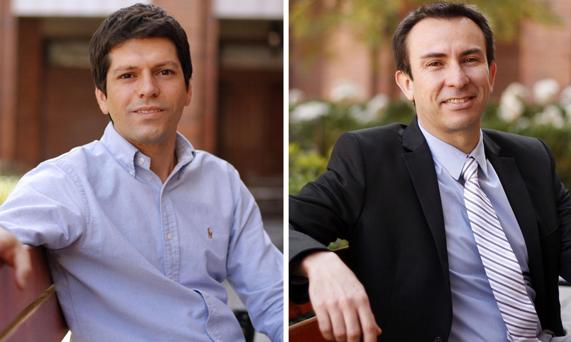 Álvaro Paul y Patricio Moreno.
