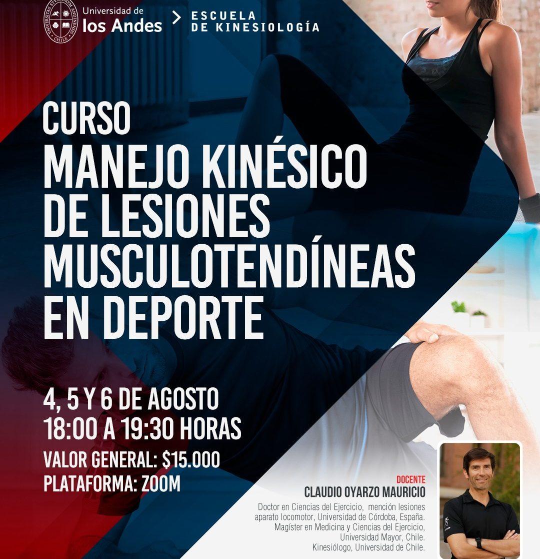 Curso Kinesiologia lesiones musculotendineas