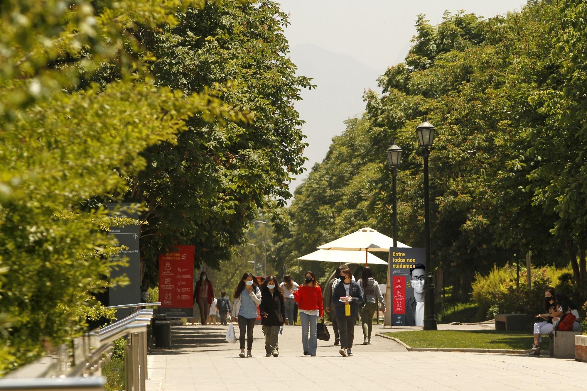 Campus UANDES en retorno seguro
