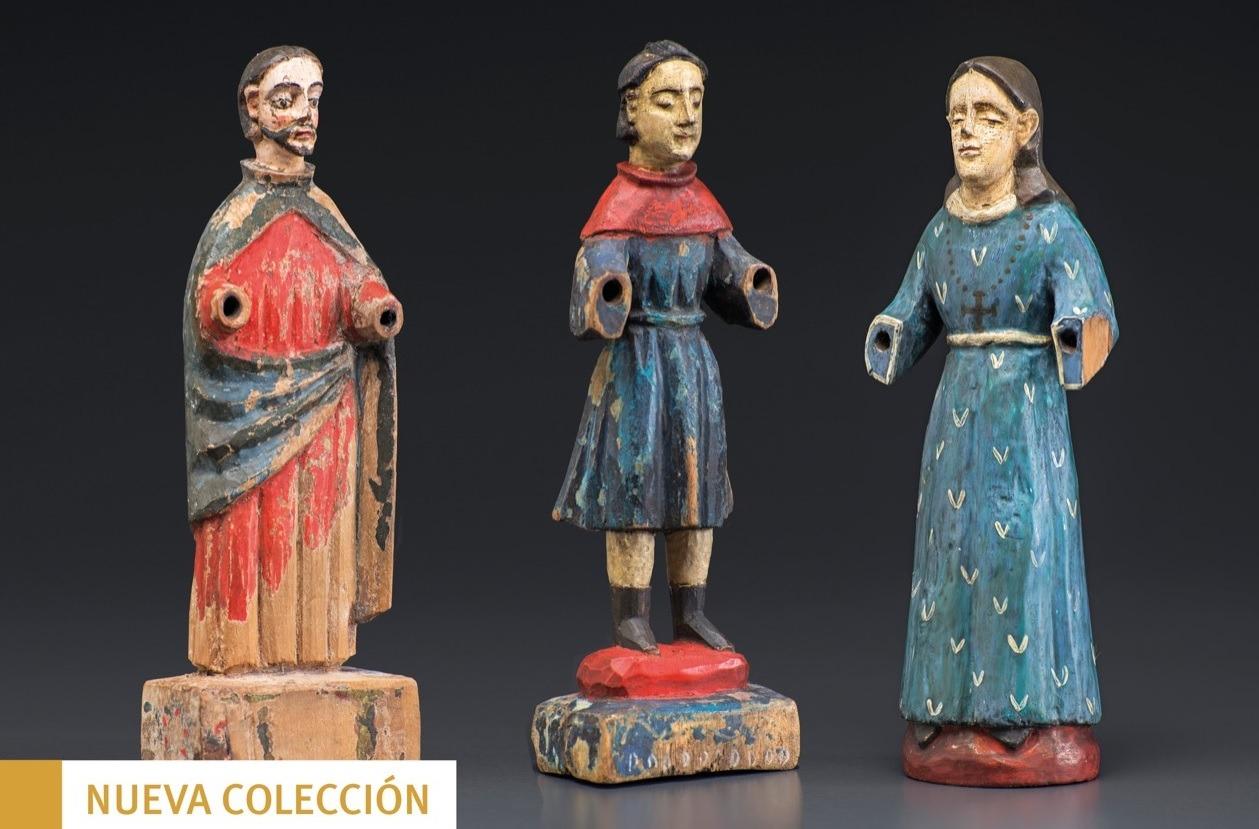 Santitos populares - Museo de Artes UANDES