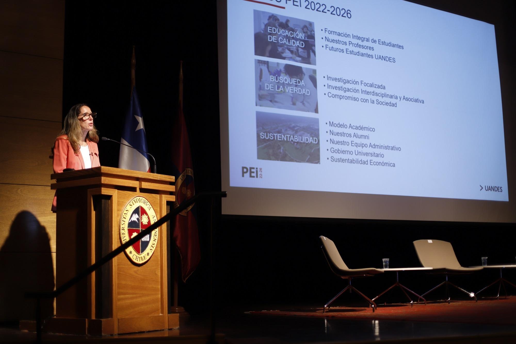 Lanzamiento de la Planificación Estratégica Institucional UANDES 2022-2026